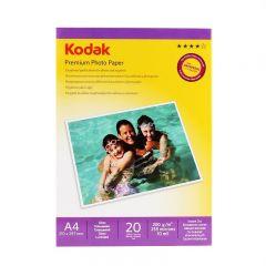 Hartie Foto Kodak Glossy 200g/m2, A4, 20 coli
