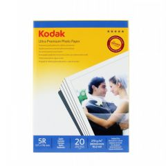Hartie Foto Kodak Ultra Premium, Satin, 270g/m2, 13x18, 20 coli