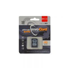 Card microSD HC 64 GB, clasa 10, Imro
