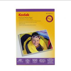 Hartie Foto Kodak Glossy 230g/m2, 10x15, 100 coli