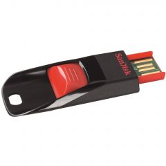 Stick memorie 16 GB, USB Flash Drive, SanDisk Cruzer Edge