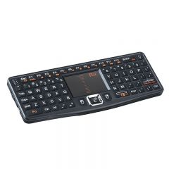Mini tastatura Rii N7 wireless qwerty multimedia cu touchpad