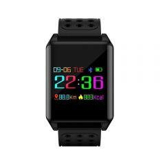 Bratara smart fitness Bluetooth, 9 functii, tensiune si puls, pedometru, IP67, SoVogue