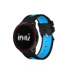 Bratara Smart Bluetooth monitorizare cardiaca, calorii, pedometru, notificari, albastru, SoVogue