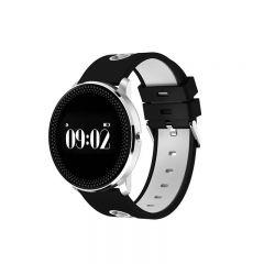 Bratara Smart Bluetooth monitorizare cardiaca, calorii, pedometru, notificari, alb, SoVogue