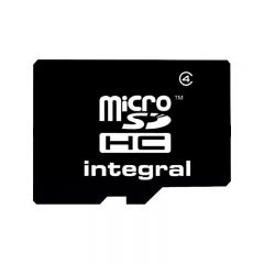 Card microSD HC 32 GB, clasa 4, Integral