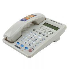 Telefon fix afisaj LCD, sistem dual FSK/DTMF, calculator incorporat, Panalet