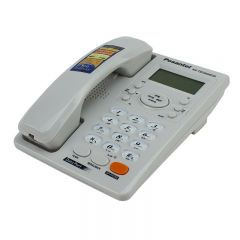 Telefon fix cu fir, analogic, LCD, handsfree, ID apelant, calculator, Posantel