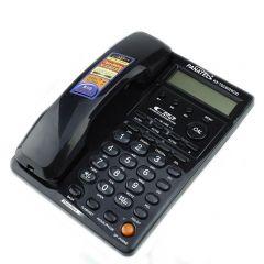 Telefon fix, ecran LCD, memorie 500 numere, FSK/DTMF, calculator