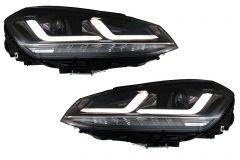 Faruri Osram Full LED compatibil cu VW Golf 7 VII (2012-2017) Black LEDriving