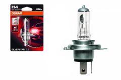 Bec Auto Halogen compatibil cu far Osram SILVERSTAR H4 12V 60/55W
