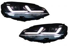 Faruri LEDriving Osram Full LED compatibil cu VW Golf 7 VII (2012-2017) Crom pentru Faruri Xenon si Pozitie Halogen