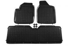 Covorase Presuri Auto Negru din Cauciuc compatibil cu Ford GALAXY I (1995-2006) Seat Alhambra I (1996-2010) VW Sharan I (1995-2010)