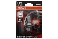 Bec Auto Halogen Osram SILVERSTAR 2.0 64210SV2 H7 12V 55W