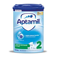 Lapte de continuare premium 6-9 luni Aptamil 800g