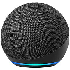 Boxa inteligenta Amazon Echo Dot 4, Control Voce Alexa, Bluetooth, Wi-Fi, Negru