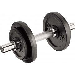 Set greutati cu 5 piese Best Sport, 10 kg, Negru/Argintiu