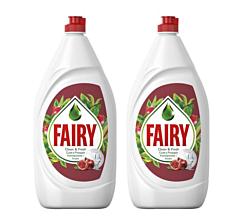 Detergent de vase Fairy Pomegranate & Red Orange 2x800ml