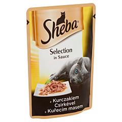 Hrana umeda pentru pisici cu pui Sheba Cuisine 85g