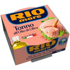 Ton in ulei de masline Rio Mare 160g