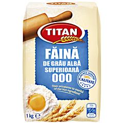 Faina alba de grau superioara 000 Titan 1kg