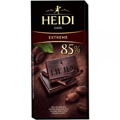 Ciocolata neagra 85% cacao Heidi 80g