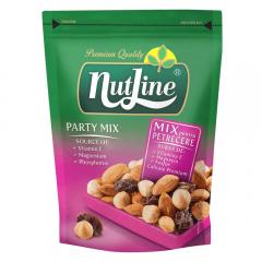 Mix de alune de padure si migdale coapte cu stafide Party Mix Nutline 150g
