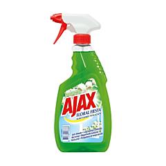Detergent geamuri cu pulverizator Floral Fiesta Green Ajax 500ml