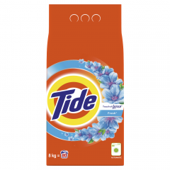 Detergent automat pudra Touch Of Lenor, Tide, 80 Spalari, 8kg