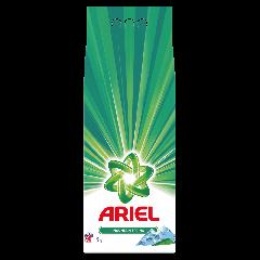 Detergent automat pudra Ariel Mountain Spring 9 Kg, 90 spalari