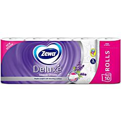 Hartie igienica Zewa Deluxe Lavender dreams, 3 straturi, 10 role