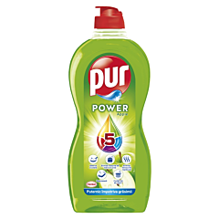 Detergent de vase Pur Power Apple, 450 ml
