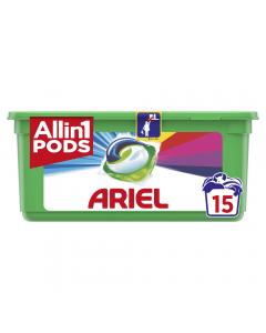 Detergent Ariel 3 in 1 15 buc 448ml