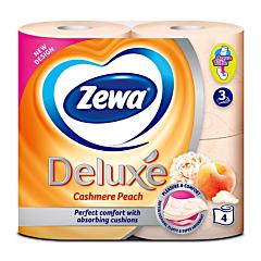 Hartie igienica Zewa Deluxe Cashmere Peach 4 role 3 straturi