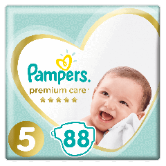 Scutece Pampers Premium Care Mega Box Marimea 5, 11-16 kg, 88 buc