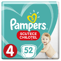 Scutece-chilotel Pampers Pants Jumbo Pack Marimea 4, 9-15 kg, 52 buc