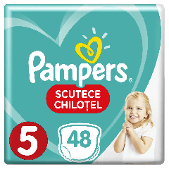 Scutece-chilotel Pampers Pants Jumbo Pack Marimea 5, 12-17 kg, 48 buc