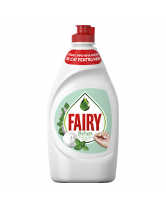 Detergent vase cu parfum de ceai si menta Fairy 450ml