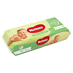 Servetele umede Huggies Natural Care 56buc