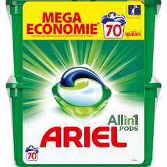 Detergent capsule Ariel All in One PODS Mountain Spring  70 spalari