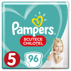 Scutece-chilotel Pampers Pants Mega Box Marimea 5, 12-17 kg, 96 buc