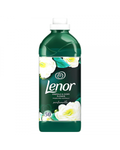 Balsam de rufe Lenor Emerald & Ivory Flower 1,5 l, 50 Spalari