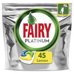 Detergent vase capsule Fairy Platinum 45 buc