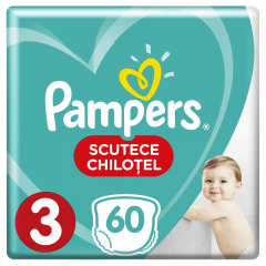 Scutece-chilotel Pampers Pants Jumbo Pack Marimea 3, 6-11 kg, 60 buc