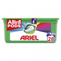 Detergent automat capsule Ariel 3in1 PODS Touch of Lenor, 28 spalari, 28 buc