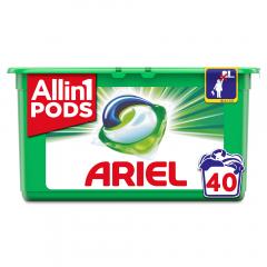 Detergent capsule 3in1 PODS Mountain Spring, 40 spalari, 40 buc Ariel