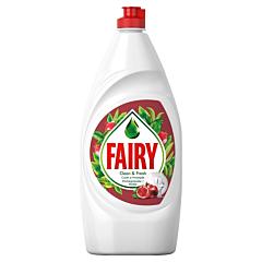 Detergent de vase cu rodie si portocale rosii Fairy 800ml
