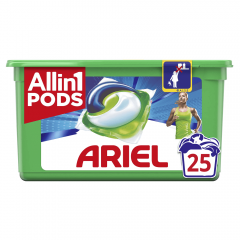 Detergent capsule Ariel All in One PODS Active Deo+ 25 spalari