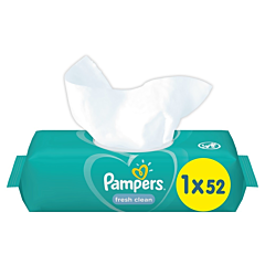 Servetele umede Fresh Clean Pampers 52buc