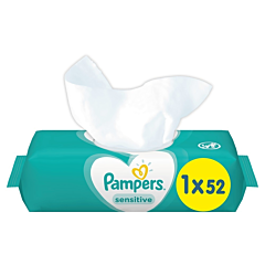 Servetele umede Sensitive Pampers 52buc